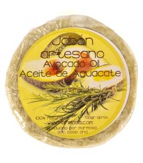 Jabón Aguacate  Artesano con Romero - 100% Natural