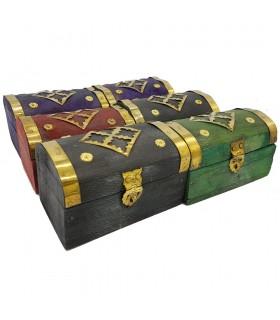 Pack 6 Mini chests - Multicolor - Model SUNDUQ