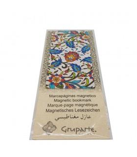Marcapáginas - Solapa Magnética - Diseño Mosaico Árabe - Modelo 9 - Producto Recomendado