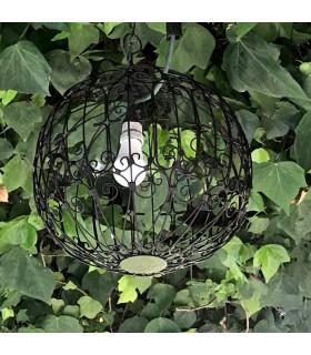 Lamp Sphere Lattice Forge - Exerior - Ideal Garden - Model Asjar