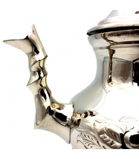 Tetera Sultán - Cobre Niquelado - 12 cl - DELUXE