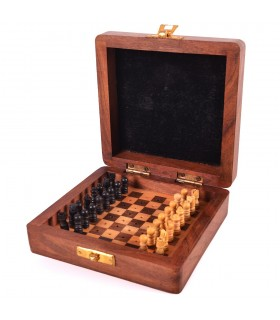 Travel Chess - Anchors - Craft - 13 cm - Rihla Model