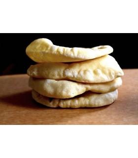 Pan de Pita MINI 10 cm Artesano - Kebab - Shawarma - Bolsa con 10 Unidades