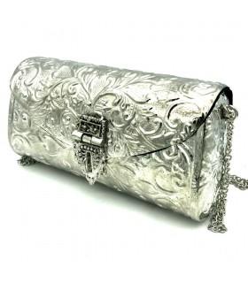 Nickel Party Bag - Floral Design - Warka Model