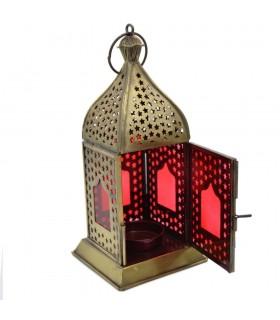 Farolillo Arabe - Design Openwork Stars - Modello Agra - 19 cm
