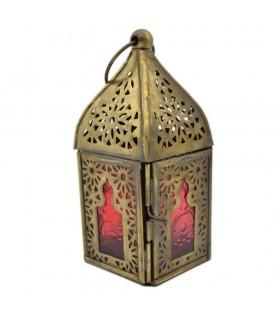 Arabe Mini Lantern - Arab Window Design - Bombay Model - 13 cm