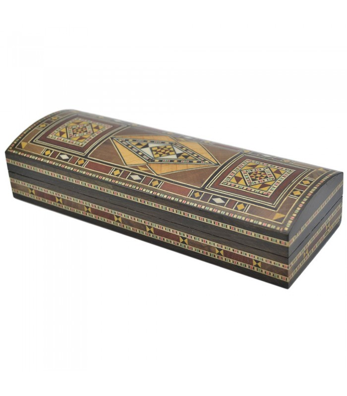 Pencil Box Baul Craftsman Velvet - Lux Finish