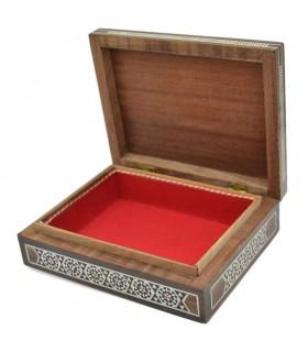 Caja Taracea Rectáncular - Siria - Modelo Mayadin - 18 cm