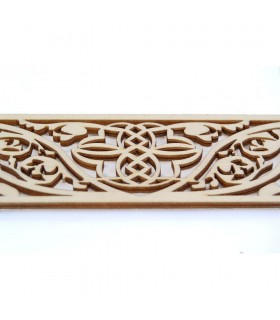 Arabic Openwork Celosia - Wood Laser Cut - Model 13 - 50 cm