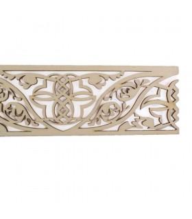 Celosia Arabe Calada - Madera Corte por Laser - Modelo 13 - 50 cm