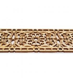 Celosia Arabe Calada - Madera Corte por Laser - Modelo 14 - 50 cm