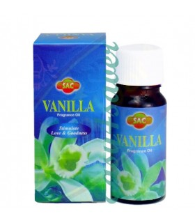 Aceite Esencial Aromático - Quemadores Aceite -SAC- Olor Vainilla- 10ml
