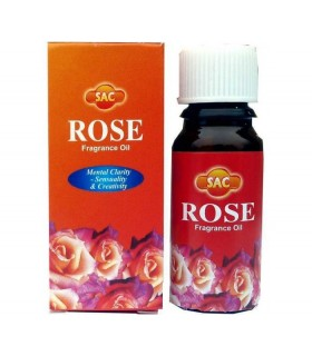 Aceite Aromático Quemadore- SAC - Olor ROSA- 10ml