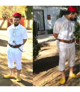 Complete Aladdin Costume - Moro Cap Bombacho Trousers Babucha