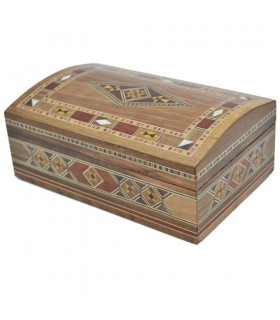 Taracea Box Syria Baul- Star Decoration - 12 cm