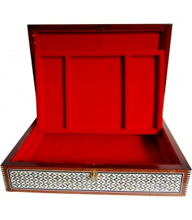 Intarsien große samt Schmuck-Box - Tablett - Ägypten - Neuheit