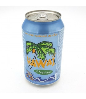 Hawaii - soda bevanda gusto frutti tropicali - 25 cl