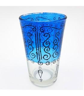 Juego 6 Vasos de Té Grabados - Relieve Diseño Celosia - Modelo HASIRA