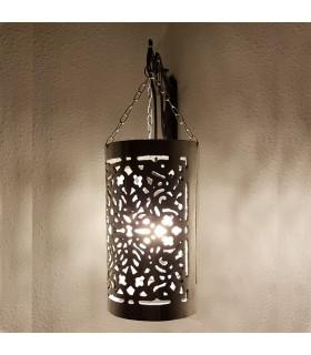 Lámpara Arabe Techo Aluminio - Cilindrica - Modelo ZAHAF