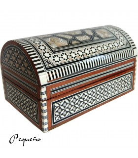 Jeweler Chest - Velvet - inlaid Egypt - 2 Sizes