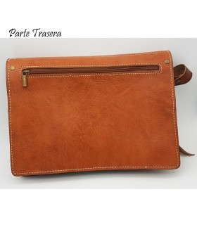 Men's Leather Bag - 100% Natural - Marroquineria - Model BASIT