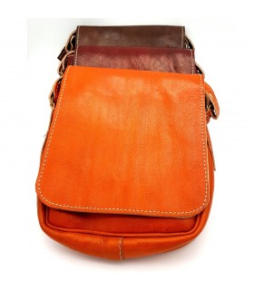 Men's Leather Bag - 100% Natural - Marroquineria - Model JADID