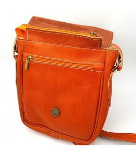 Men's Leather Bag - 100% Natural - Marroquineria - Model JADID