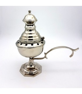Ладан горелка Курильница - никель - 22 cm - новые