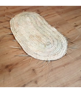 Alfombra de palmito - 100% Vegetal - Modelo PALMA