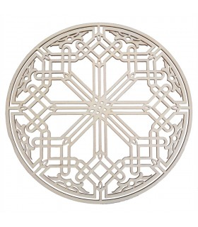 Celosia Arab Decoration - Laminated Wood Laser Cut - Model 15 - 25 cm