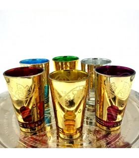 6 tazze - gioco finestra arabo - vari colori