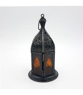 Farol para Vela Árabe - Diseño Mosaico - Modelo BAB