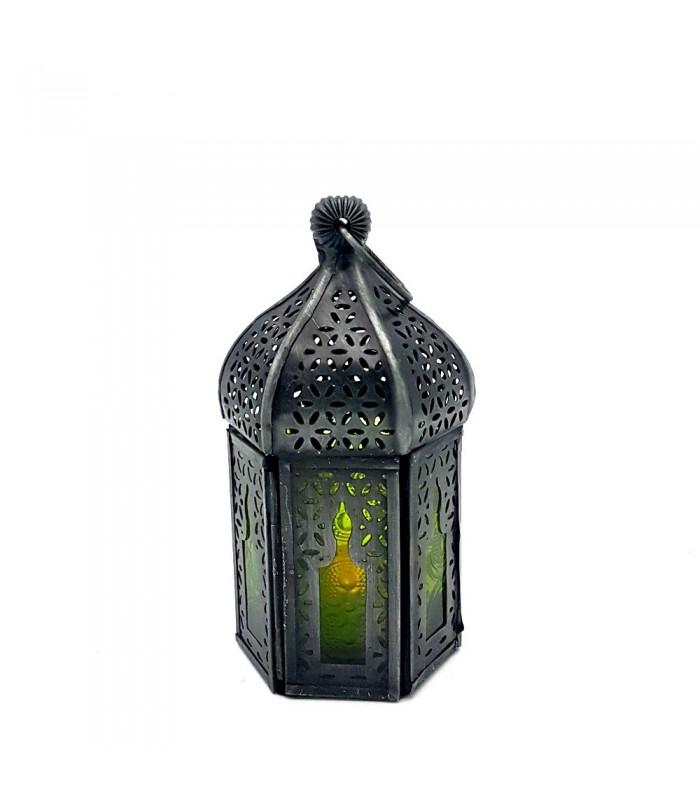 Farol para vela rabe dise o mosaico modelo abuab - Velas de diseno ...
