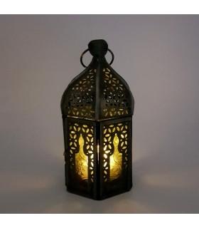 Farol para Vela Árabe - Diseño Mosaico - Modelo ABUAB