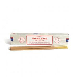Incienso Salvia Blanca SATAYA - White sage - Varillas - 15 gr