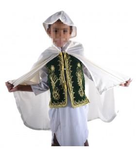 Conjunto Traje Arabe Niños - 5 Piezas - Modelo WALED