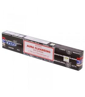 Incense  Aura Cleansing - Green Mint - SATYA - 15 gr