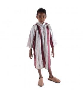Djellaba Marroquí Celebraciones - 100% Algodón - Niño