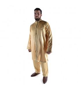 Jabador Marroquí 2 Piezas Bordados - Hombre - Traje Árabe celebraciones