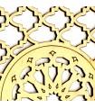 Celosía Decoración Árabe - Madera Laminada Corte por Láser - Modelo 16