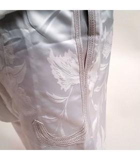 Pantalón Bombacho Árabe - Tela diseño Floral - Hombre - Modelo bazan