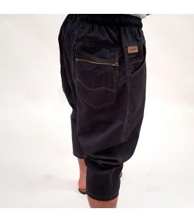 Pantalón Bombacho Árabe - Tela diseño Baqueros - Hombre - Modelo Galid