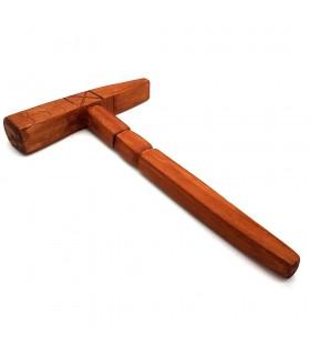 Martello di legno - 100% fatto a mano - Modello Mitraka