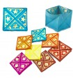 Skin hand - decorated gold - Expansible - various colors