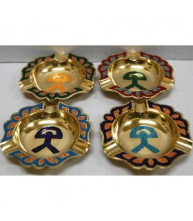 Indalo bronze ashtray - various colors