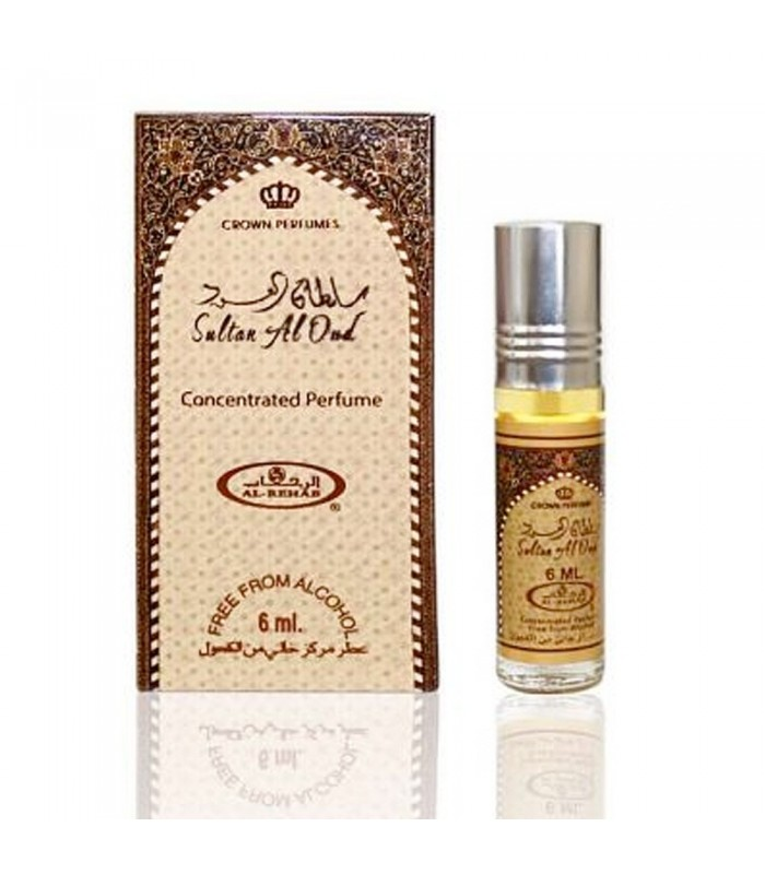 Sultan Al Oud- Perfume Arabe Aceite 6 ml Al-Rehab