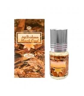 Musk Oud- Perfume Arabe Aceite 3 ml Al-Rehab