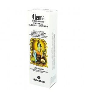 Henna Colorante En Pasta Super Vitaminada - Quinquina - RADHE SHYAM - 200 ml-