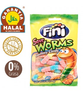 Worms - Gluten Free and Halal Golosia - Bag of Chucherias 100 gr