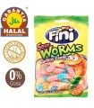 Worms - Gluten Free and Halal Sweets - Bundles Bag 100 gr
